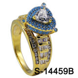 مصنع [هوتسل] ورك جنجل مجوهرات [ديموند رينغ] فضة 925