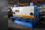 CNC hidráulico de QC11k o máquina que pela de la guillotina del Nc