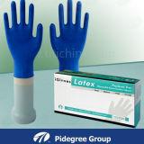 Устранимый порошок перчаток рассмотрения латекса