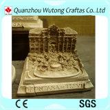 結婚式の装飾の古代ローマの建物モデル樹脂の記念品のギフト