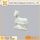 Brinquedo DIY Brinquedo de cavalo de gesso branco pintável para presente de mesa