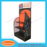 Kundenspezifischer MetallPegboard Fußboden-Stellung-Bildschirmanzeige-Energien-Hilfsmittel-Standplatz