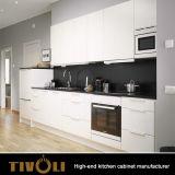 明白な白Tivo-0258hのアセンブルされた台所単位