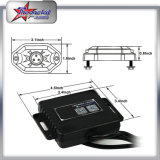 Luces de 4/6/8/12 mini roca de Bluetooth RGB 9W LED de las vainas para la iluminación del carro LED del jeep SUV de ATV