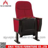 Metales Acero madera Panel de escritura para asientos de sillas de la Iglesia Yj1202