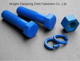 Teflon ASTM Rods filetés par A193 d'acier allié