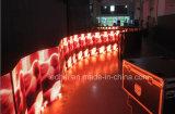 Les Afficheurs LED d'intérieur doucement flexibles P6.67/P10//Circle rond peuvent être n'importe quel Afficheur LED flexible de /Thin de module de la forme DEL