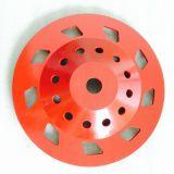 """180mm 7 """"完全なパフォーマンスダイヤモンドの粉砕のコップの車輪"""