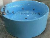 De moderne Freestanding Doorwekende Badkuip van de Waren van de Vorm Roud Acryl Sanitaire (602)