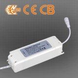 el panel de 100lm/W 300*1200m m 0-10V Dimmable LED con la aprobación externa de los CB del programa piloto ENEC