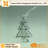 Ceramic Mini Christams Tree Hanging Ornaments