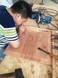 外部絵画木製のドアの骨董品によって切り分けられる木製のドア(XS2-027)