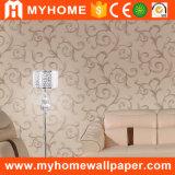 Papel decorativo de la pared interior de Rolls Inicio del papel pintado