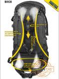 Grote capaciteit dragende rugzak met metalen frame ISO-norm