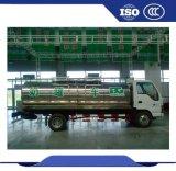 La leche de transporte de camiones de refrigeración de la leche del tanque de acero inoxidable Camión Tanque de leche