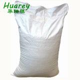 PP plastique Sac tissé blanc ordinaire de l'emballage pour le blé/farine