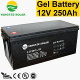 10 ans Durée de vie 12V 250Ah Batterie au gel de l'énergie solaire pour la maison