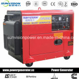6kw/Air-Cooled 6kVA Groupe électrogène Diesel, générateur portatif avec ce/ISO/Soncap/SGS