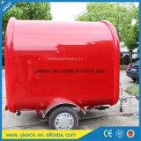 Fabrikant van Yieson paste de Snelle Mobiele Aanhangwagen van de Keuken van het Voedsel met Ce aan