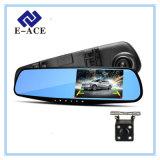 Двойная камера Rearview объектива с видеозаписывающим устройством