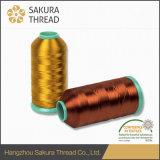 Cuerda de rosca 100% del bordado del rayón de Oeko-Tex Sakura con las muestras libres