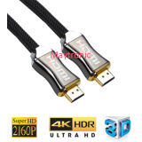 2.0 Cabo HDMI完全なHD 2160p/3D/4K/Hdrのコンピュータ