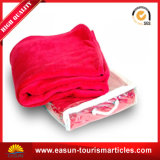 New Pattern Wholesale100%Polyester Coral Fleece Blanket, Travel Airline Blanket