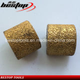 Rolos de moagem de martelo de argolas soldadas D45mm para pedras de mármore