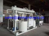 Destilación negra del aceite de motor que recicla la máquina/la planta/el equipo para basar el petróleo