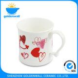 De witte Fijne Mok van de Koffie van China 375ml van het Been voor Dagelijks Gebruik