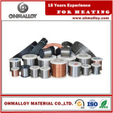 Diameter 0.0210mm Fe-Cr-Al-Mo Alloy 0cr27al7mo2 Wire voor Heating Element