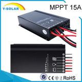 Contrôleur solaire Sm1575 de mode de jour/nuit de Cinq-Étape d'IP67 15AMP MPPT 12V/24V
