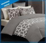 A coleção do hotel de Brown imprimiu o fundamento da tampa do Quilt do algodão