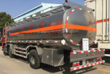 Foton 3 Wellen25 Cbm-Kraftstoff Bowser Aluminiumlegierung-Kraftstofftank-LKW