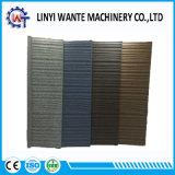 Azulejo revestido de madera del material para techos del metal de la mejor piedra colorida de la calidad de la muestra libre