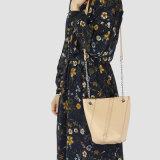 Nova moda estilo Weaving PU Crossbody Bag