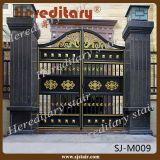 Indian House decorativo automáticas corredizas de aluminio Puerta de Entrada