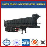 35m3 Aanhangwagen 3 van de stortplaats de Vrachtwagen van de Aanhangwagen van de Kipper van de As voor Steenkool