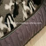 바느질 직물 애완 동물 공급 제품 개 고양이 소파 베드가 Armygreen에 의하여 뜨개질을 했다