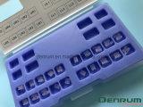 Керамическое Denrum зубоврачебное ортодонтическое ясное Edgewise/расчалки Roth/Mbt
