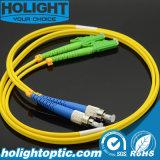 FC au câble fibre optique d'E2000A