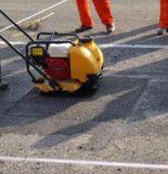 Compressor hidráulico da placa de vibração da construção