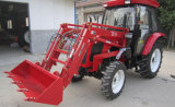 35HP de 40HP-75HP Gereden Tractor van het Landbouwbedrijf van de Landbouw met Lader/Ploeg