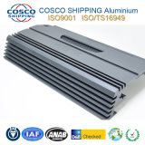 Customzied Aluminium-/Aluminiumstrangpresßling für Auto-Verstärker-Gehäuse mit ISO9001 bescheinigte