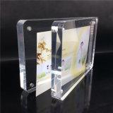 Moderner magnetischer Acrylfoto-Rahmen mit runder Ecke
