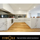 純木の上の島の台所ベースキャビネットTivo-0160V