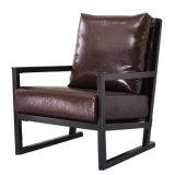 優雅なホーム家具の革木のホテルの椅子(HC016)
