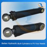 Cilindro hidráulico pequeno de 50 toneladas para veículos de construção (estabilizador de guindaste, caminhão, dumper)