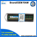 Unbuffered niet Ecc van de RAM van de Desktop 128X8 16chips 2GB DDR2