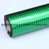 Lámina para gofrar caliente del laser del color verde